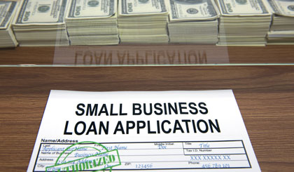 Small-business lending down in 2012