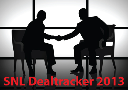 SNL Report: Bank M&A 2013: The year's deals begin