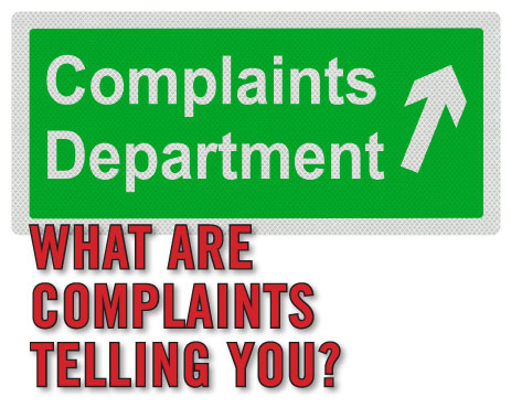 Can consumer complaints be a good thing?