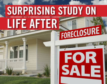 Surprising findings about life after foreclosure