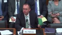 Acting CFPB Director Mick Mulvaney in testimony before the House Financial Services Committee earlier this year.