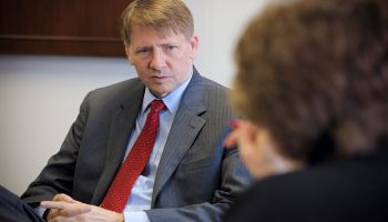 Filling Richard Cordray's chair at CFPB matters twice—once for acting director and finally for the official director.