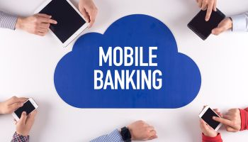Mobile banking requires focus
