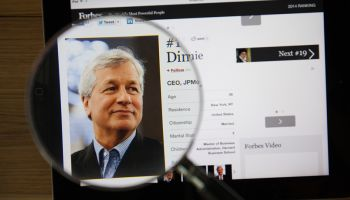 Jamie Dimon vs. Technology Chart Analysts