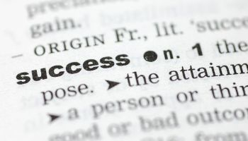 How do you spell success?