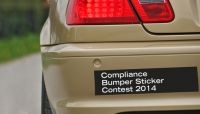 Compliance needs a good bumper sticker slogan