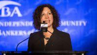 Washington calls community banker