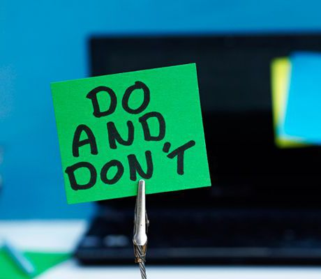 Do's and Don'ts when selling financial services